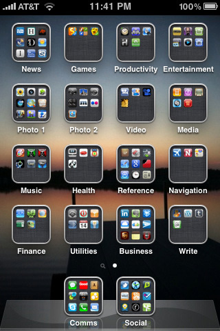 iphone app folder the iphone is simple to use with these easy tips prince 11594